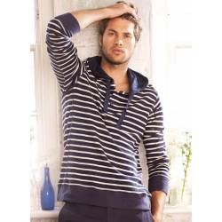 Shoreland Striped Hoody