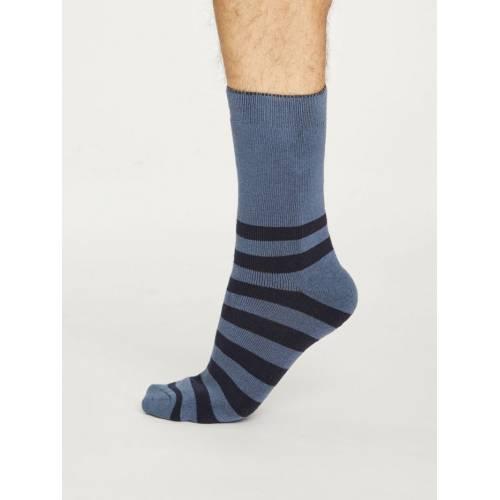 Stripe Walker Baumwollsocken