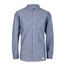 Oxford Hemd Blue